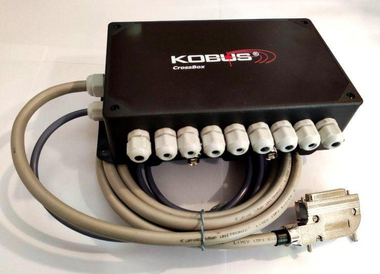 Распределительная коробка c GPS приемниками (PN: BM10010-2-K708)
